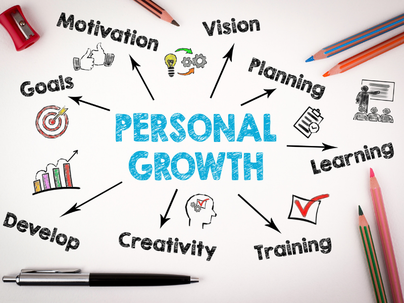 A New You with Personal Growth and Why You Need it at any Age?