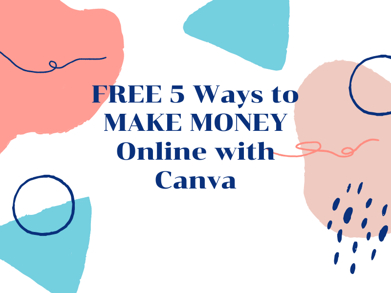 Ways to MAKE MONEY Online Using Canva Design Anything Tool.