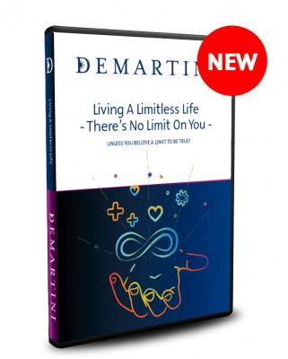 When was the last time you allowed yourself to DREAM BIG? Think about this, when was the last time you were certain that you would live an EXTRAORDINARY LIFE? If you're being held back from reaching new heights by a fear of failure or a continuous self-limiting internal dialogue, then this product will be of great interest to you. In this presentation Dr Demartini will be addressing all the common denominators that result in self-limiting beliefs. You will discover: • How these self-limiting beliefs can begin SERVING you instead of holding you back; • How to figure out what is REALLY important to you; • Practical tools on how to give yourself PERMISSION to achieve in any area of your life; and • How to finally break through those boundaries and achieve EXTRAORDINARY results. If you are looking for a lightbulb moment to help you reach new heights and levels of success in every area of your life, then get this now. It's an eye-opening and mind-expanding presentation from Dr. Demartini!